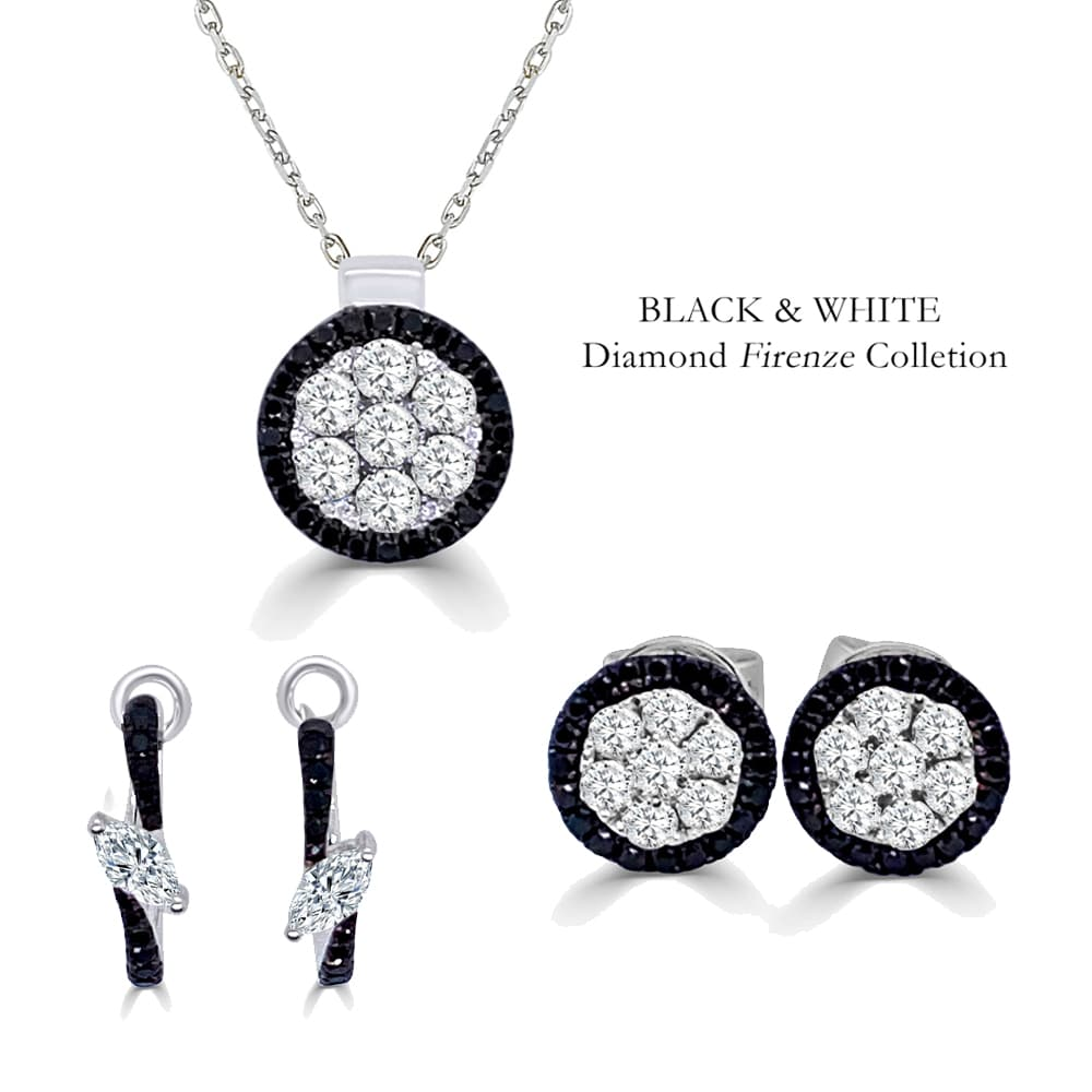 Black and White Diamond Firenze Collection