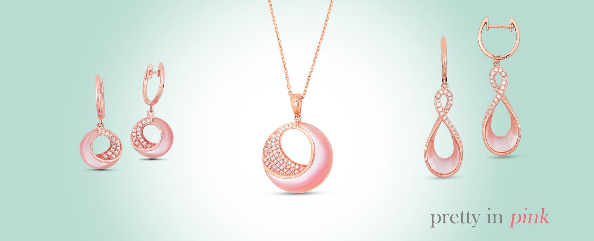 fine jewelry - pretty in pink